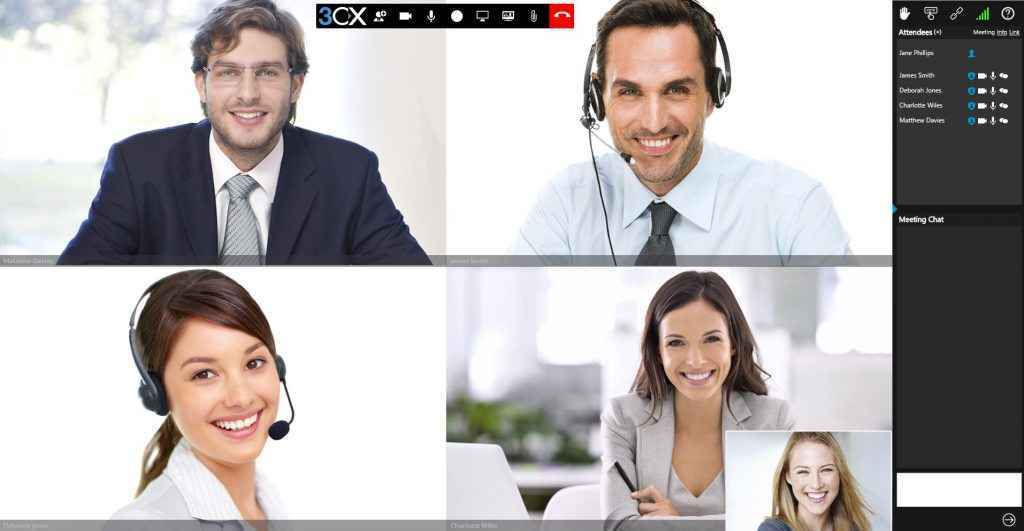 People Using 3CX VoiP Phone System