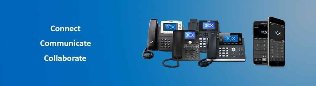 3CX VoIP Phone System Web Header